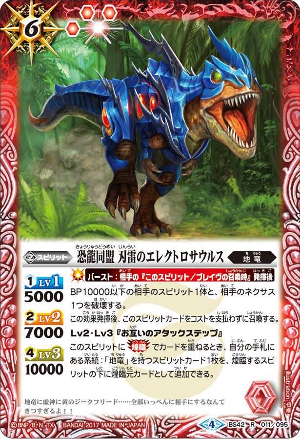 The DinosaurAlliance ThunderBladeElectrosaurus