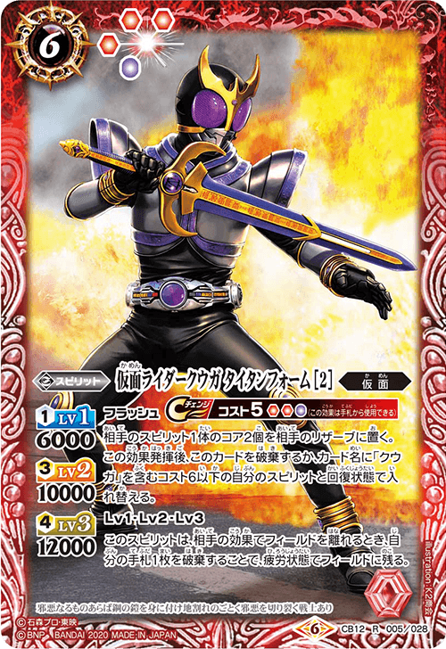 Kamen Rider Kuuga Titan Form (2)