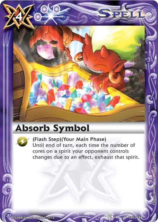 Absorb Symbol