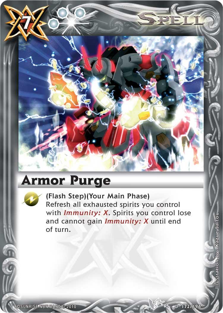 Armor Purge