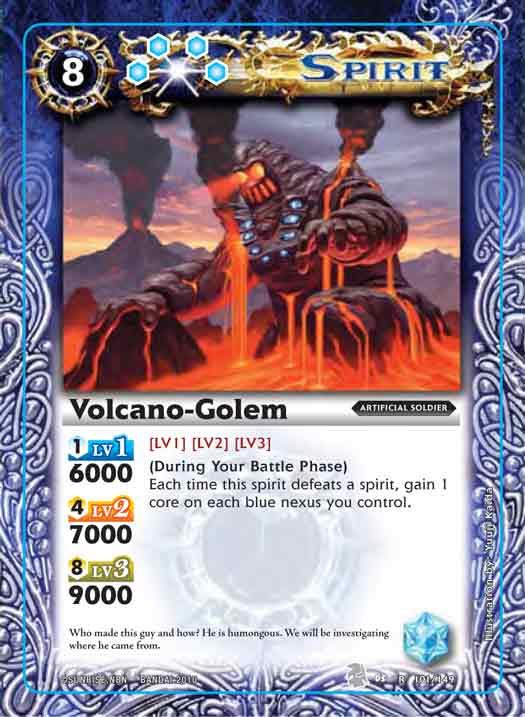Volcano-Golem