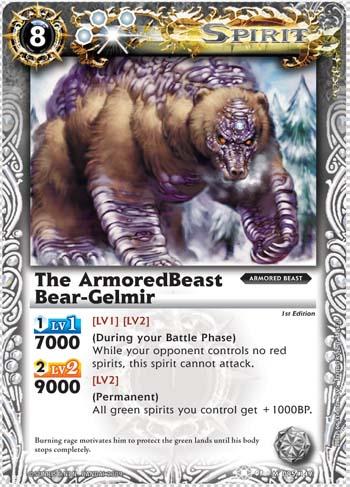 The ArmoredBeast Bear-Gelmir
