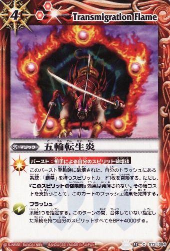 Transmigration Flame
