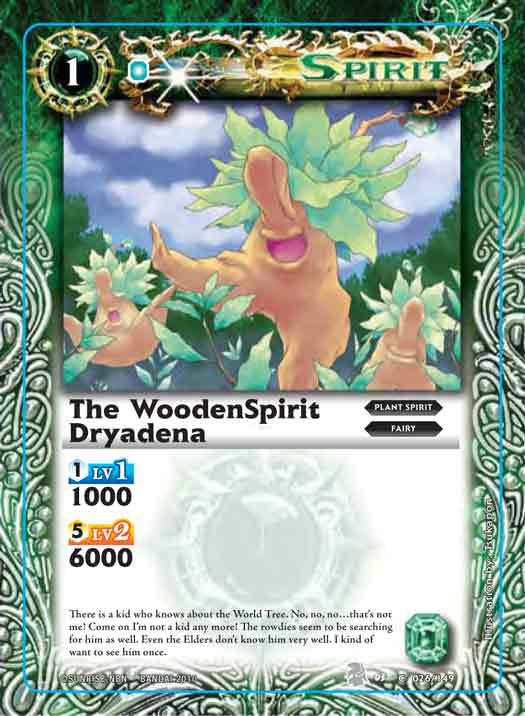 The WoodenSpirit Dryadena
