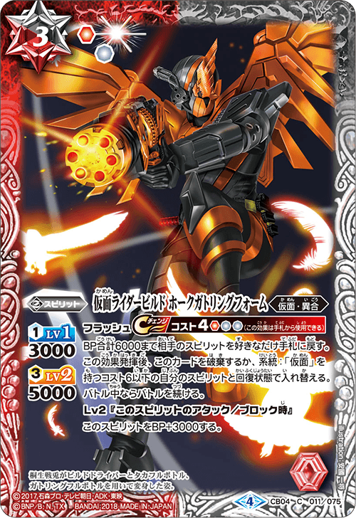 Kamen Rider Build HawkGatling Form