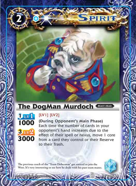 The DogMan Murdoch