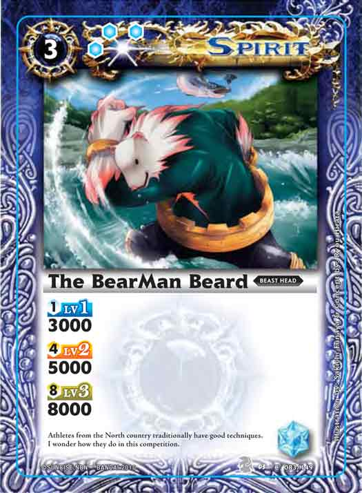 The BearMan Beard