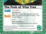 The Fruit of Wise Tree