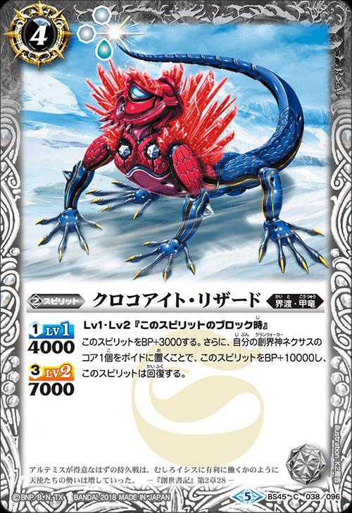 Crocoite-Lizard
