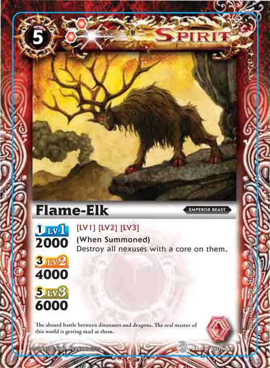 Flame-Elk