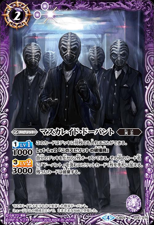 Masquerade Dopant