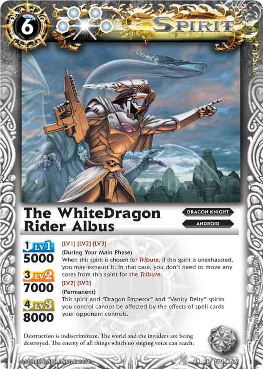 The WhiteDragonRider Albus