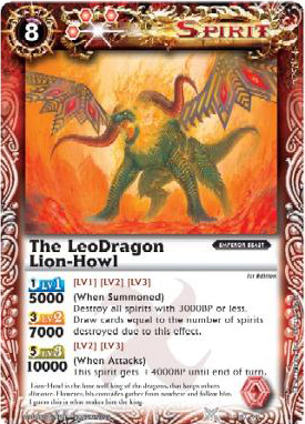 The LeoDragon Lion-Howl
