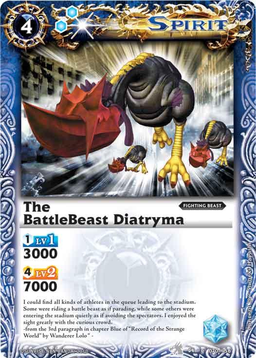 The BattleBeast Diatryma