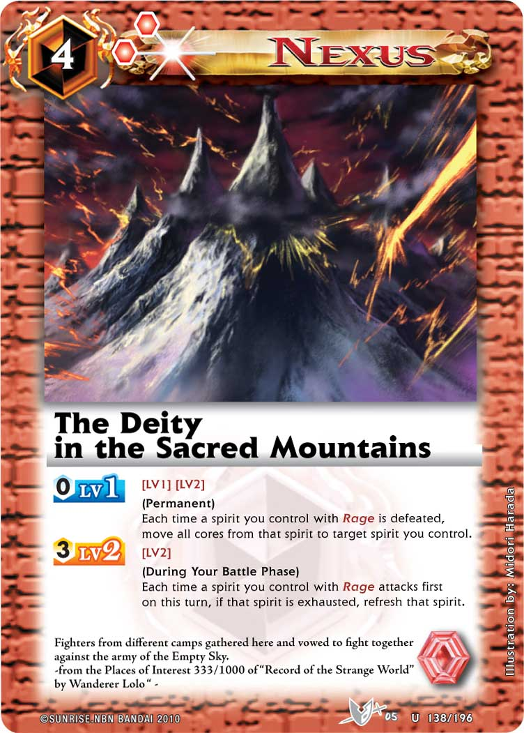 The Deity in the Sacred Mountains