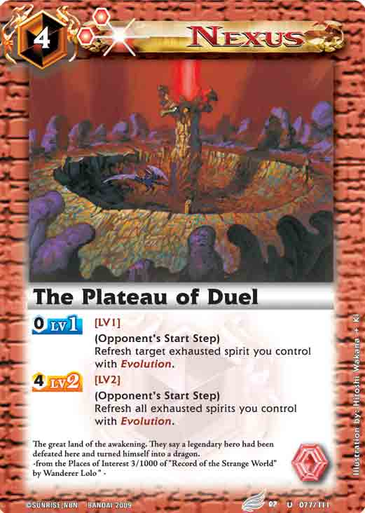 The Plateau of Duel