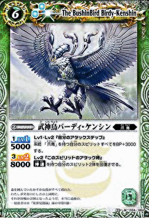 The BushinBird Birdy-Kenshin
