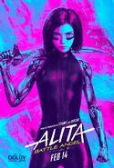 Alita Battle Angel Dolby Poster