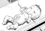 Alita as a baby