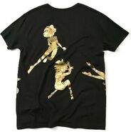 Heroism Gally shirt - gold rear