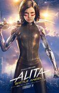 Alita Battle Angel Theatrical Poster