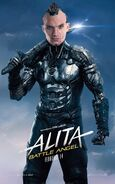 Alita Battle Angel Character Poster 05