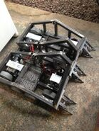 Blacksmith's Frame with Motors, Electronics, and Wheels