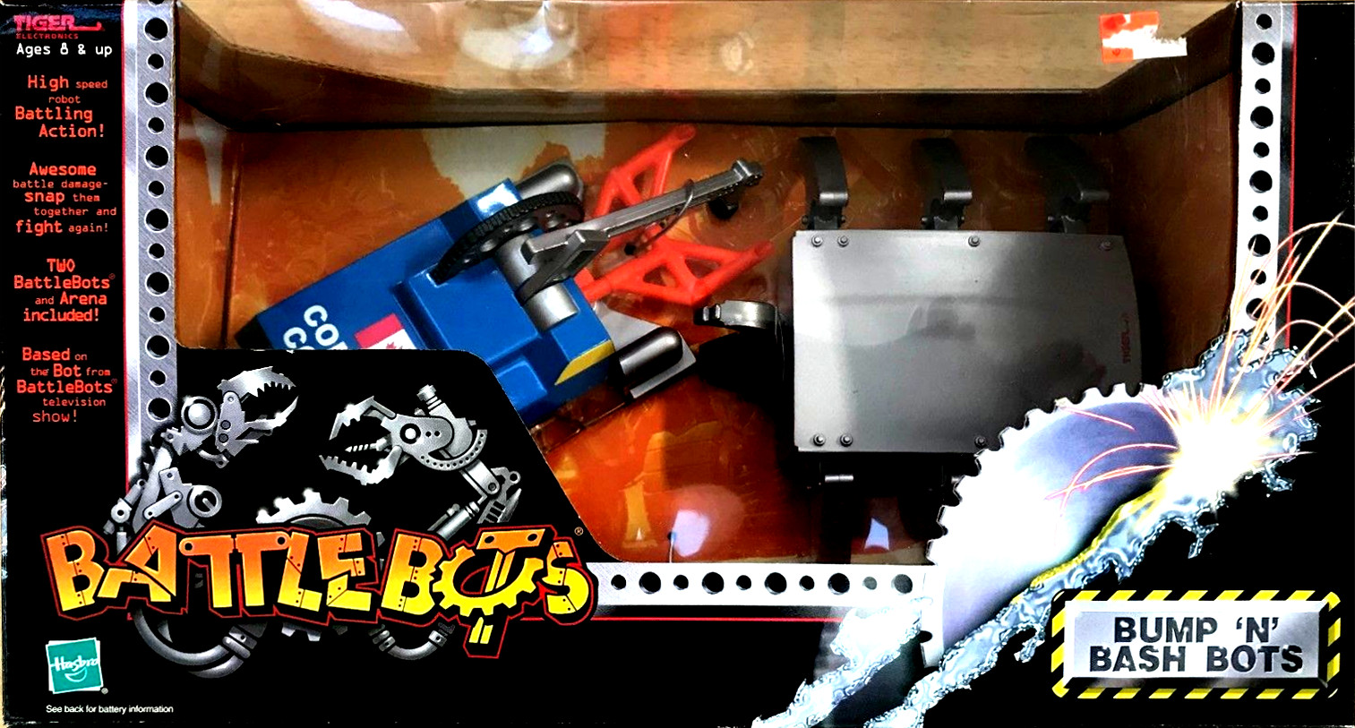Red Scorpion/Bump N' Bash Bots