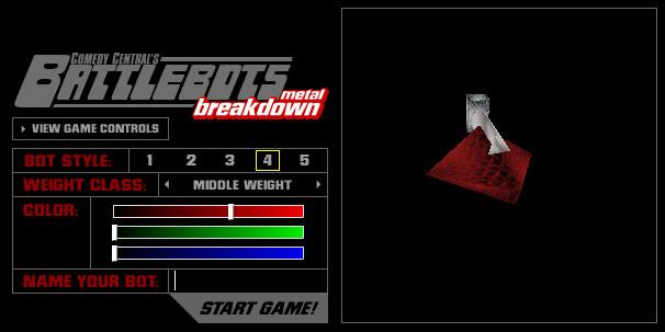 Battlebots Metal Breakdown Game