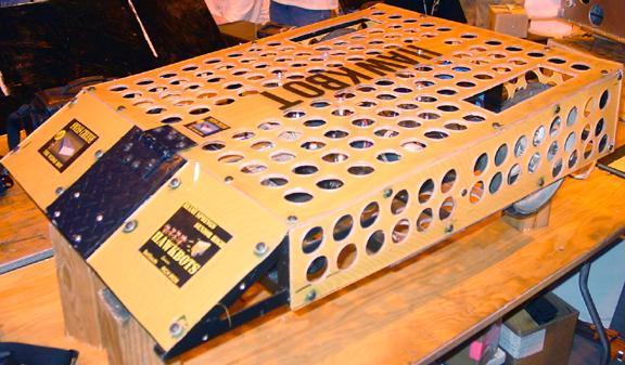 Swiss Cheese the Wedge Bot