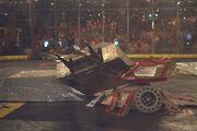Tazbot in the Season 2.0 Heavyweight Royal Rumble.