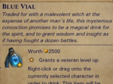 Blue Vial