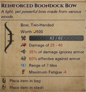 Reinforced boondock bow 0