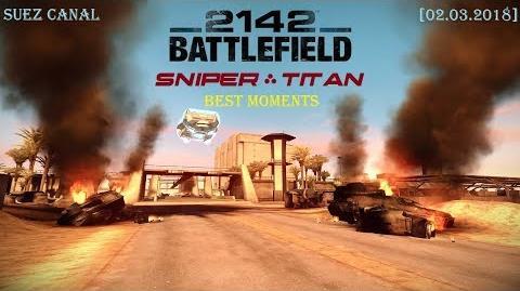 Battlefield 2142 Titan Alliance – Suez Canal Мультиплеер (02 марта 2018)