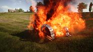 BF1 FT-17 Destroyed