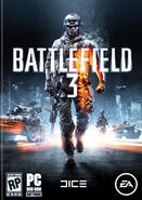 Battlefield3 box pc