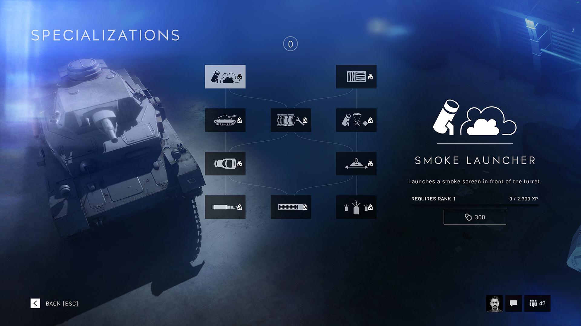 Specializations (Battlefield V)/Vehicles