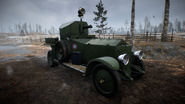 BF1 RNAS Armored Car RE Front