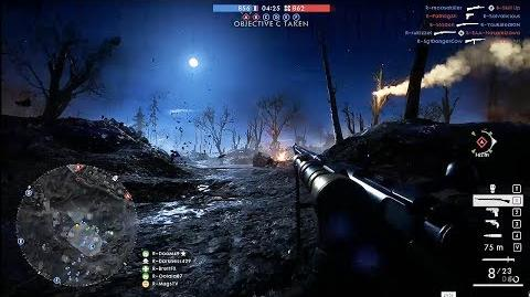 Battlefield 1 - Nivelle Nights Conquest Gameplay @ (60ᶠᵖˢ) HD ✔