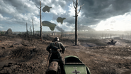 BF1 MC 3.5HP Sidecar Third Person Back