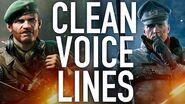 Battlefield 5 - Seamus Ernst Clean Voice Lines (Taken From Files)