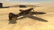 Spitfire.Africa rear BF1942