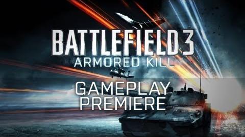 Battlefield 3 Armored Kill Gameplay Trailer
