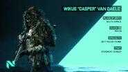 Battlefield 2042 Wikus Casper Van Daele Bio