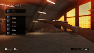 Battlefield V M28 con Tromboncino Customization