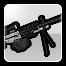 BFH Scoped Arctic M249 Icon