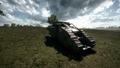 BF1 Mark V Landship Mortar Back