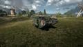 BF1 Mark V Landship Mortar Front