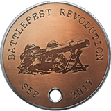 Battlefield 1 Battlefest September 2017 Dog Tag