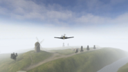 BF1942.Bf109 third person rear